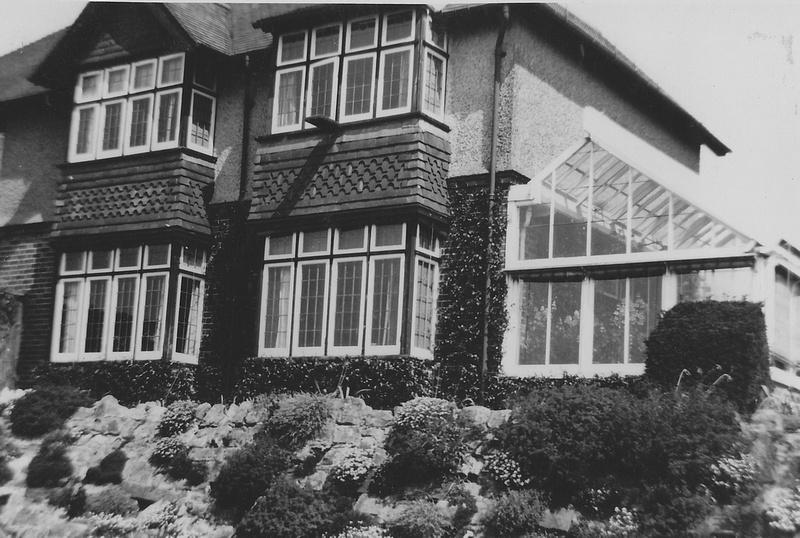 A 1950s House Exterior