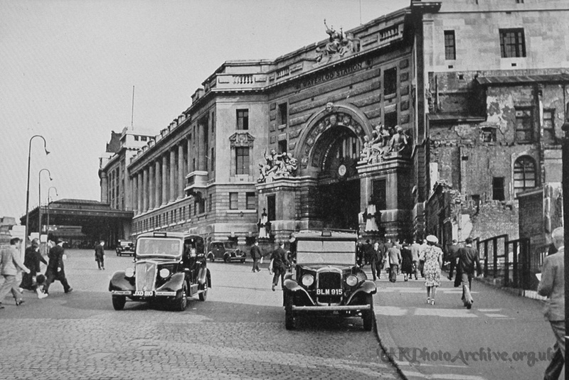 Waterloo Station 1940s