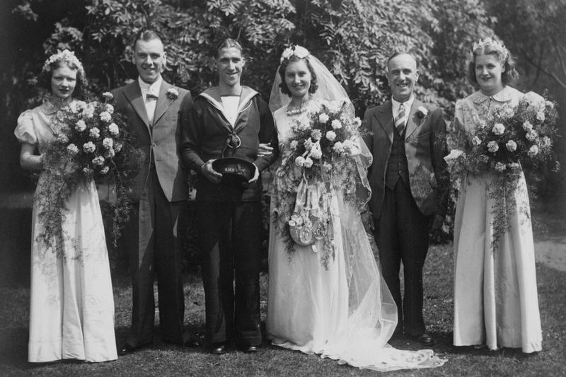 A WW2 Wedding