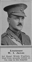 James W I Lt 3rd Royal Welsh Fusiliers The Sphere 27th Nov 1915