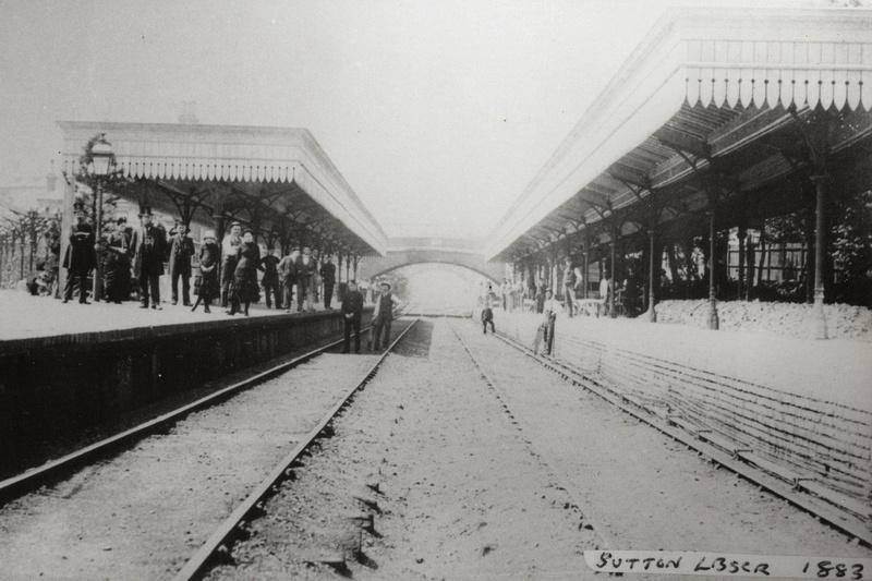 Sutton Railway Station 1883