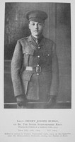 Burke H J Lt 1st South Staffs Regiment