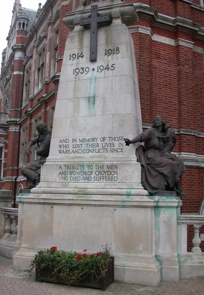 Croydon War Memorial No 1
