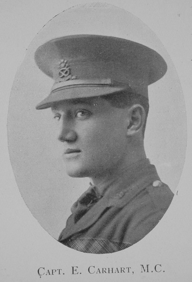 Carhart E Captain MC 5th North Staffs Regiment The 5th North Staffords and the North Midland Territorials (the 46th and 59th Divisions) 1914 - 1919