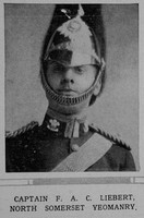 Liebert F A C Captain North Someset Yeomanry The Illustrated London News 26th Dec 1914