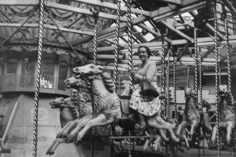 Carousel At Blackpool 1950