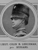 Leechman C B Lt 3rd Hussars The Illustrated London News 29th May 1915