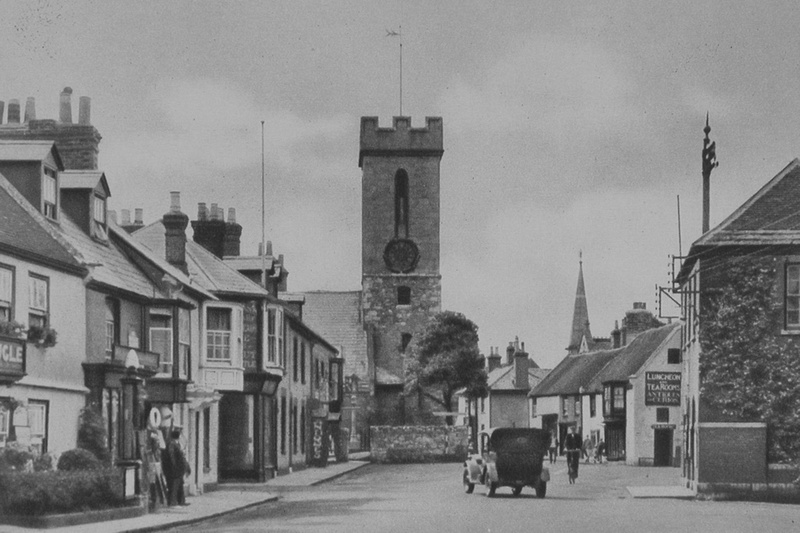 The Square Yarmouth Isle Of Wight 1920s