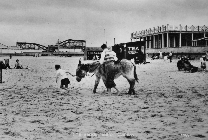 The Sands At Seaton Carew 1950s