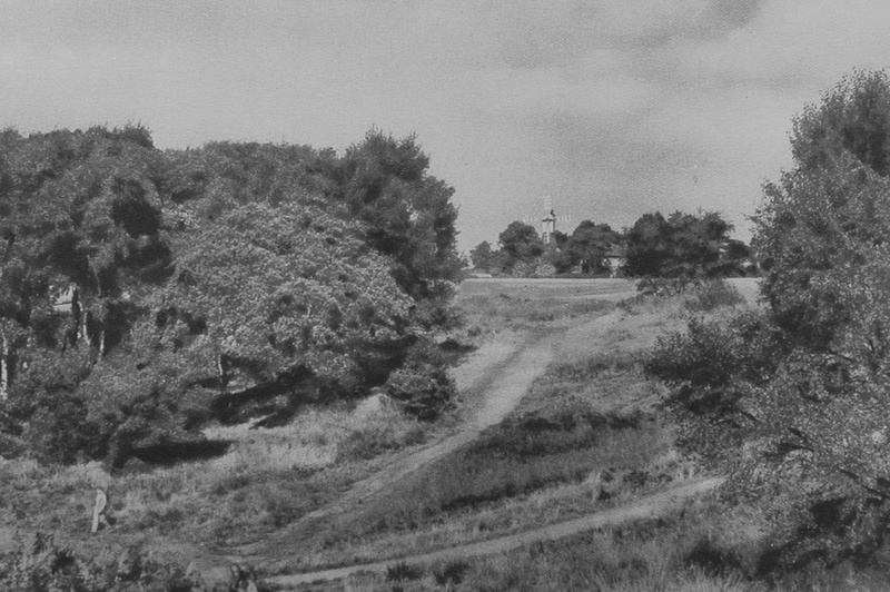 The Old Windmill Wimbledon Common 1920s