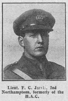 Jarvis F C Lt 2nd Northamptonshire Regiment The Graphic 22nd July 1916