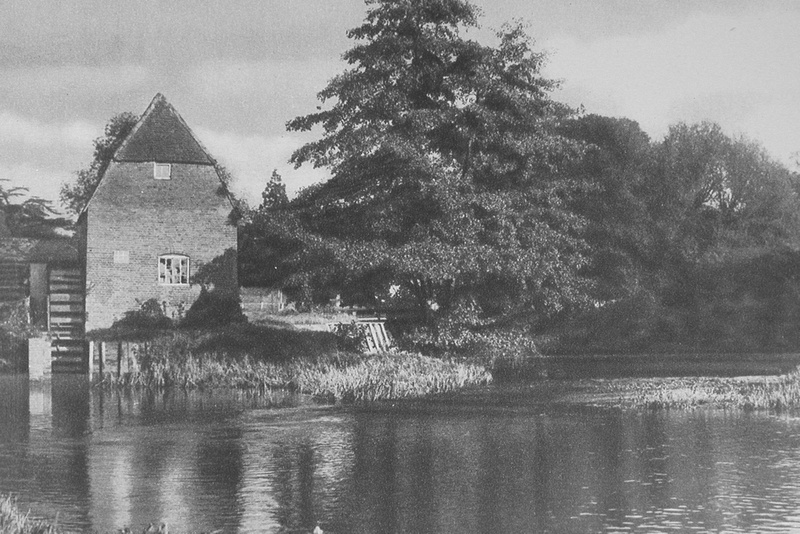 The Old Watermill On The Mole Cobham