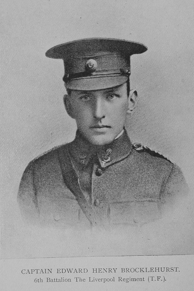Brocklehurst E H Captain 6th Kings Liverpool Regiment