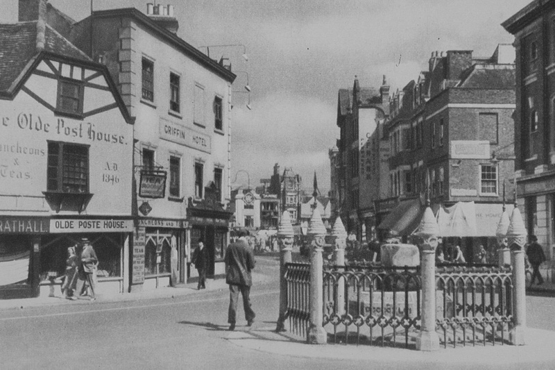 The Coronation Stone Kingston Upon Thames 1920s