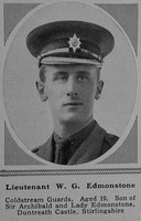 Edmonstone W G Lt 2nd Coldstream Guards The Sphere 23rd Dec 1916