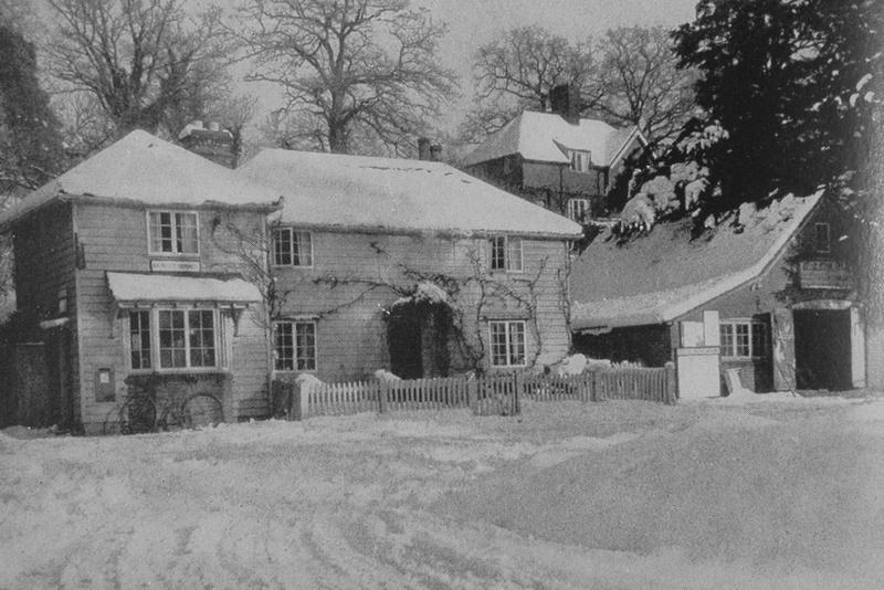 Winter At Abinger Hammer Surrey 1930s