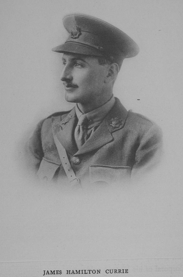 Currie J H Lt 3rd Hampshire Regiment