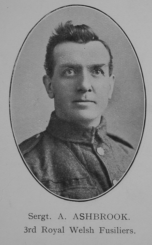 Ashbrook A Sergt 3rd Royal Welsh Fusiliers William Graham Co Roll Of Honour