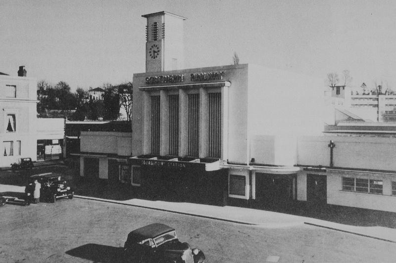 Surbiton Station 1939