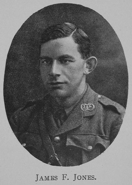 UK Photo And Social History Archive: Edinburgh High School Roll Of Honour &emdash; Jones J F Major 7th Argyll and Sutherland Highlanders Royal High School Of Edinburgh Roll Of Honour 1914-1918