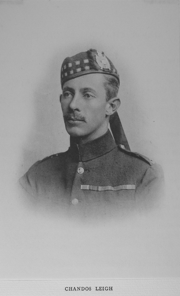 Leigh C Major DSO 2nd Kings Own Scottish Borderers