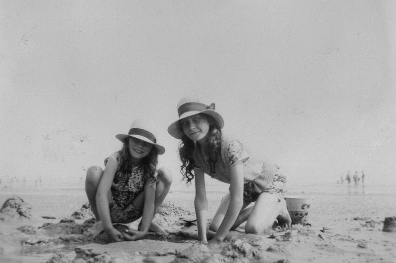 On The Beach At Peacehaven 1930s