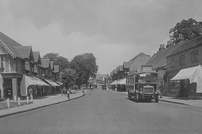 The Broadway Cheam 1930s