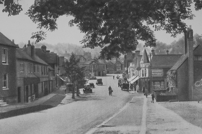 The High Street Haslemere 1920s