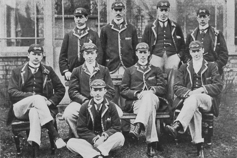The Winning Oxford Boat Race Crew Of 1896