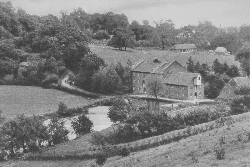 The Mill At Oxted 1920s