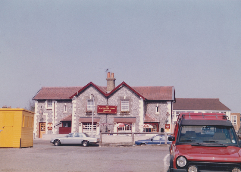 The Blackwater Tavern Sutton c1980