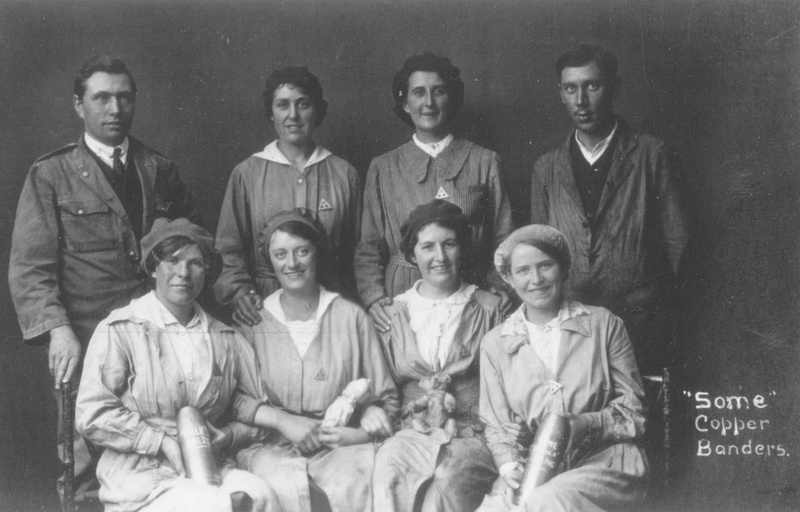 Munitions Workers Copper Banders