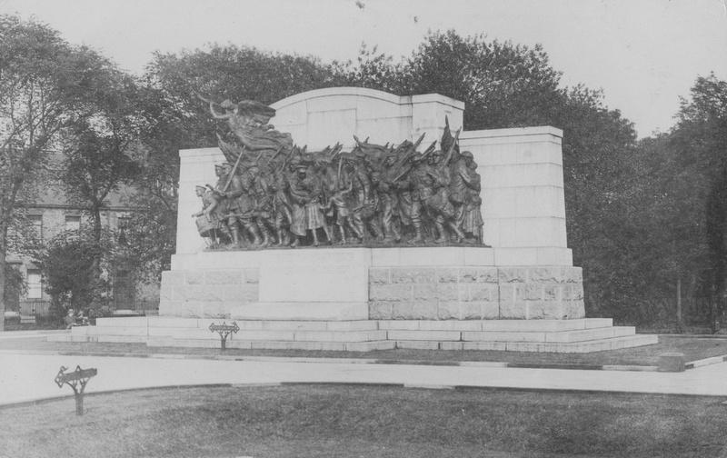 """The Response"" Newcastle Commercials War Memorial"