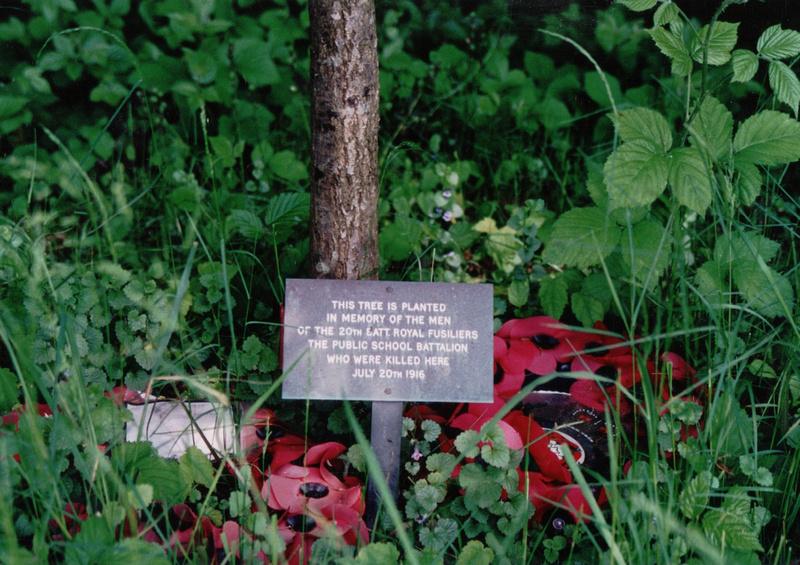 20th Royal Fusiliers Memorial  High Wood