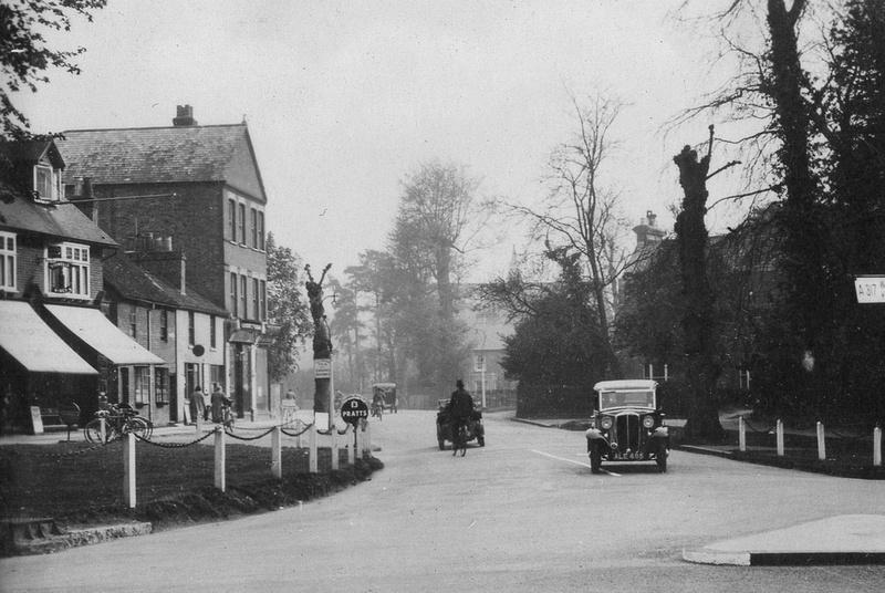The Quadrant Weybridge c.1920