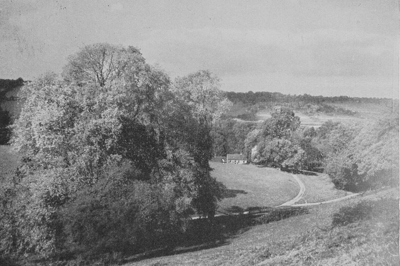 The North Downs From Near Wotton Church Surrey 1940s