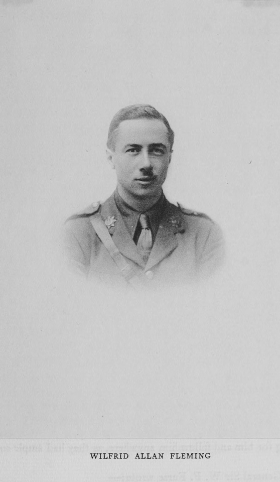 Fleming W A Captain MC Royal Flying Corps