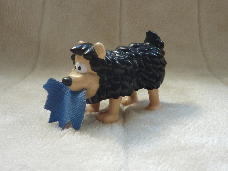 McDonalds Happy Meal Toy Gnasher The Dog From The Beano