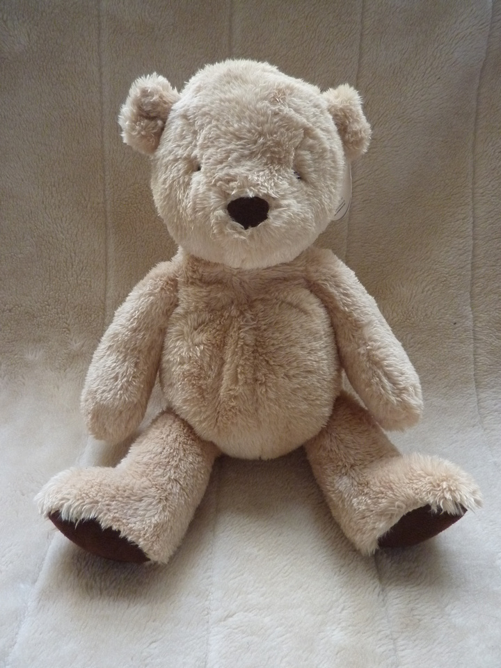 Marks And Spencer 1st Classic Teddy Bear Plush Toy 14 Inches With Tag