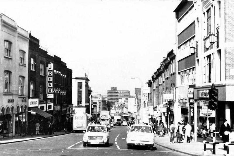 Sutton High Street 1960s