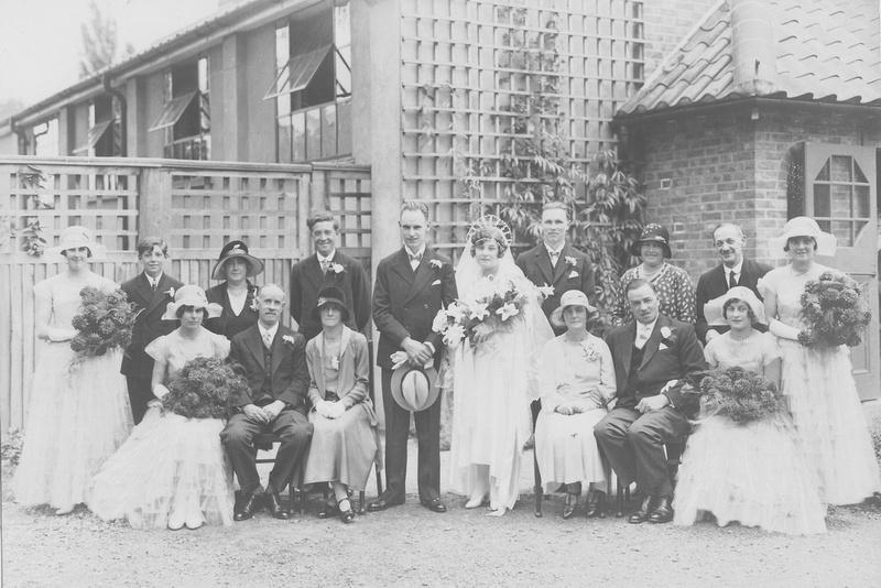 A 1920s Wedding
