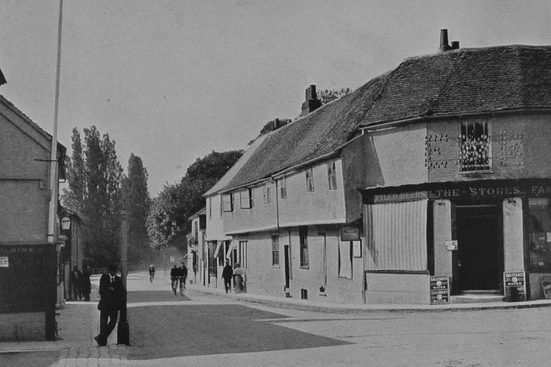 The Crossroads High Street Ewell 1901