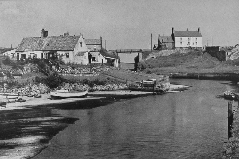 Seaton Sluice Northumberland 1940s