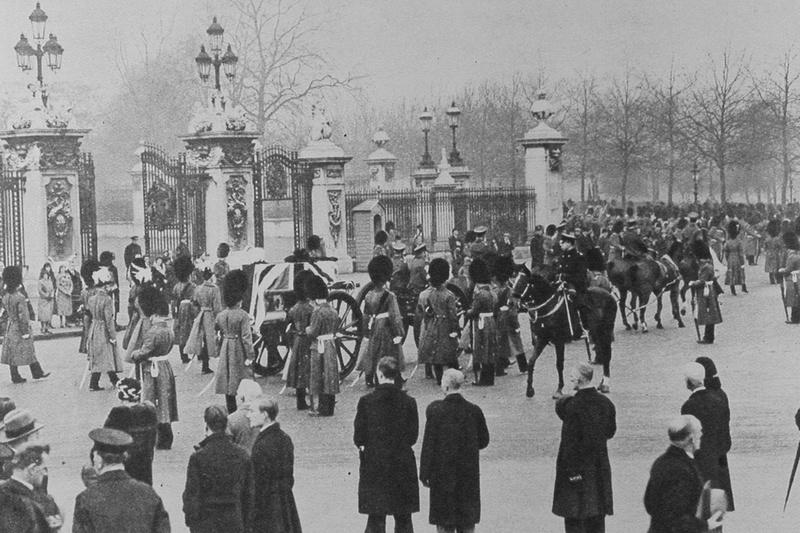 The Funeral Of Queen Alexandra 1925