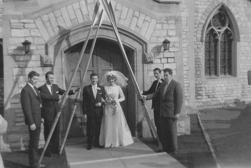 Kenneth Edward Poole And Sonia Brenda Ward Wedding Highfield Church Southampton 1963 Photo No 1