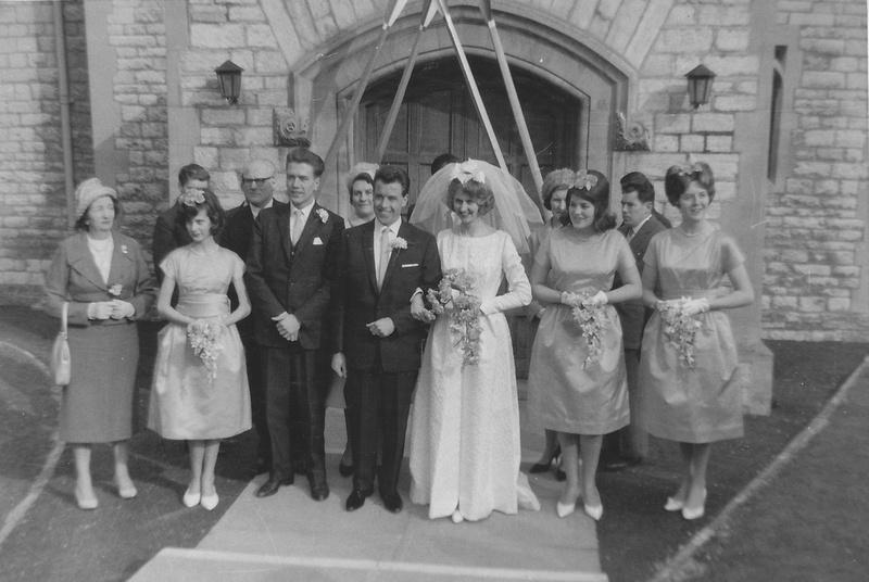 Kenneth Edward Poole And Sonia Brenda Ward Wedding Highfield Church Southampton 1963 Photo No 2