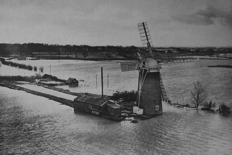 Floods Near Horsey Norfolk 1938