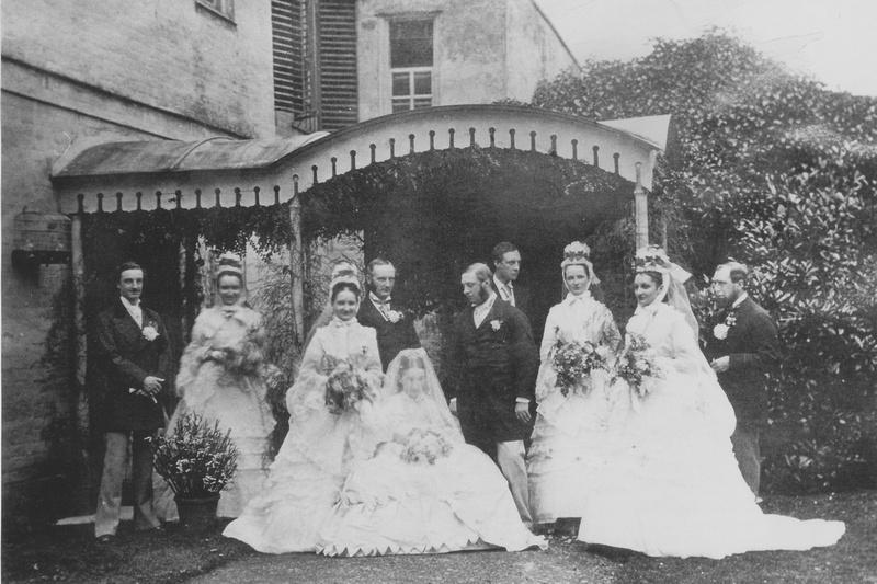 The Wedding Of Isabella Denshire And Henry Bailey At Ashtead House Surrey 8th November 1870