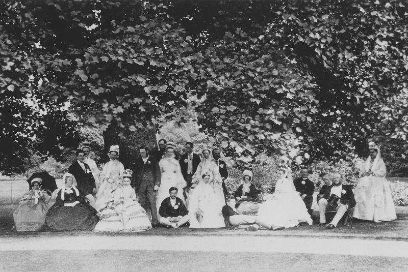 The Wedding Of Selina Denshire And Charles Wilde Ashtead House Surrey 24th July 1872