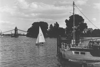 The Thames At Hammersmith 1960s Photo 1